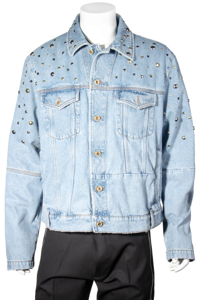 VERSACE JEANS COUTURE Etichetta Denim Jacket