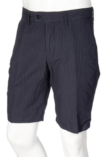 ASPESI Pinstriped Shorts Secco Porto