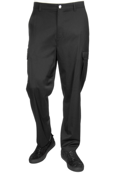 HELMUT LANG Fine Wool Cargo Pants