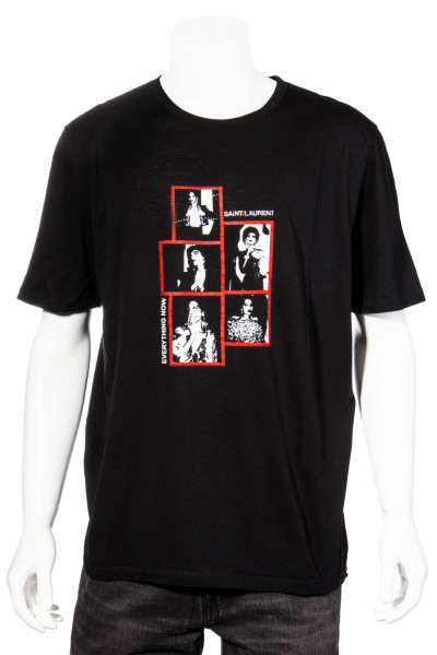 SAINT LAURENT Photo T-Shirt