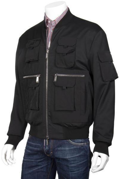 DSQUARED2 Utility Wool Bomber Jacket