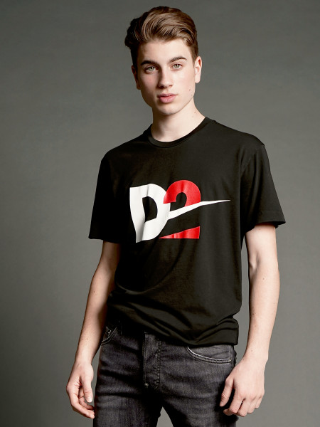 DSQUARED2 Graphic Logo Print T-Shirt