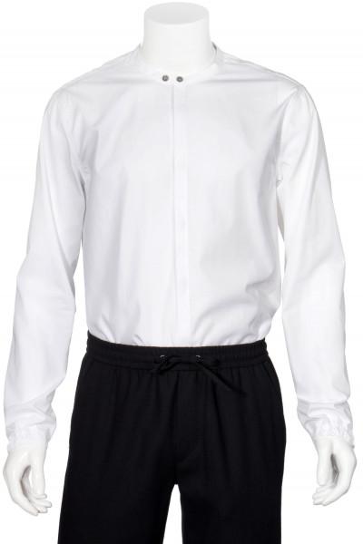 EMPORIO ARMANI Mandarin Collar Shirt