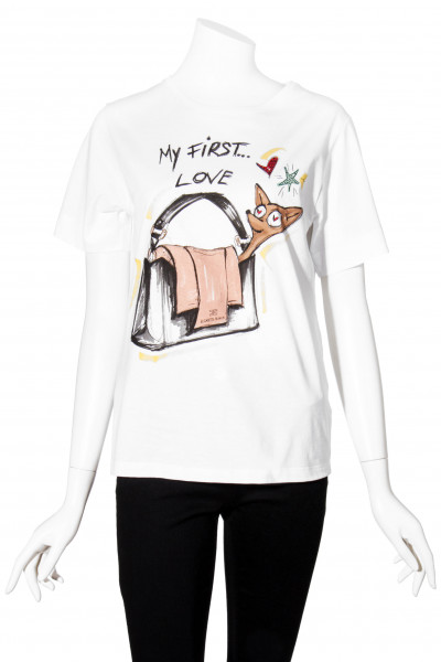 ELISABETTA FRANCHI T-Shirt Printed First Love