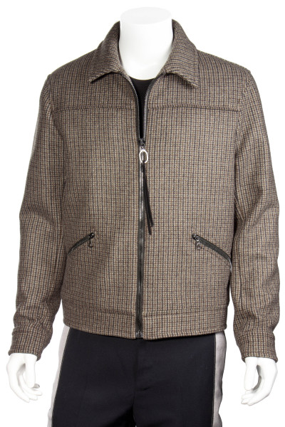 LANVIN Checked Wool Jacket