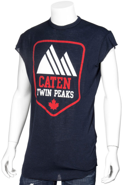 DSQUARED2 T-Shirt Printed Caten Twin Peaks