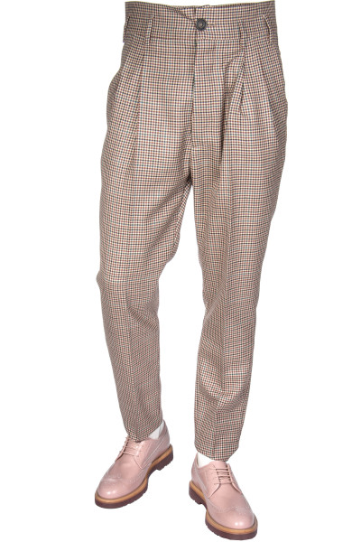 VIVENNE WESTWOOD Checked Wool Pants