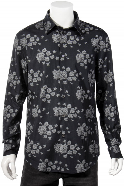 JOHN VARVATOS Rose All Over Print Shirt