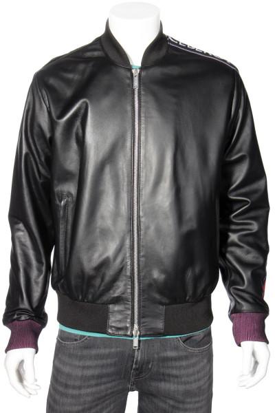 ICEBERG Leather Bomber Jacket