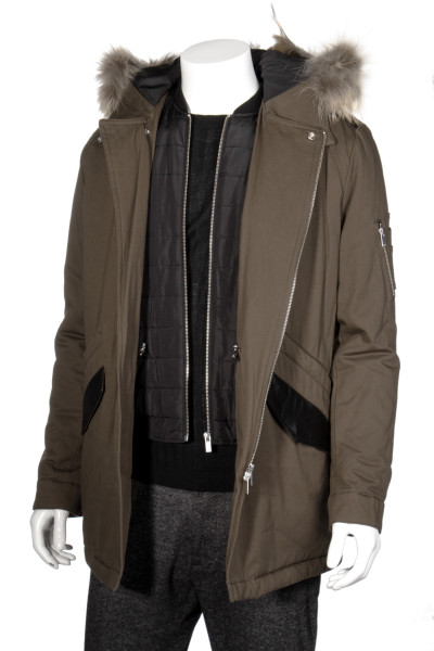 THE KOOPLES Hooded Parka
