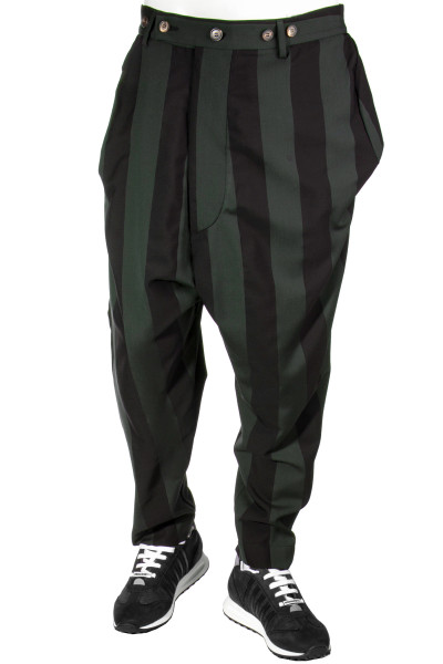 VIVIENNE WESTWOOD Striped Wrapped Trousers