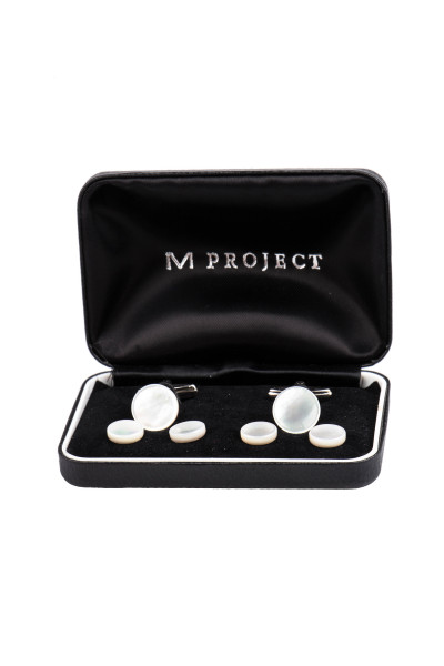 M PROJECT Cufflinks Set