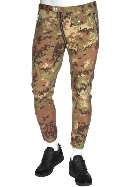 DSQUARED2 Biker Pants Camouflage