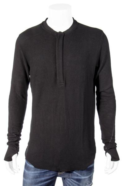 THOM KROM Half-Buttoned Sweatshirt