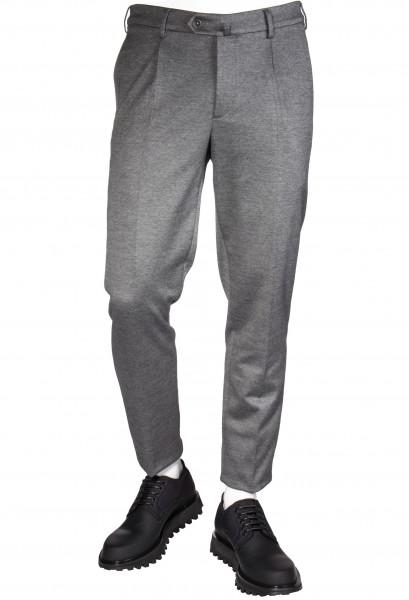 LORO PIANA Pants One Pince Jersey Cotton