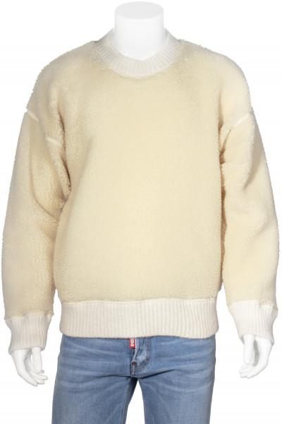 DSQUARED2 Knit Sweater Lambskin Look