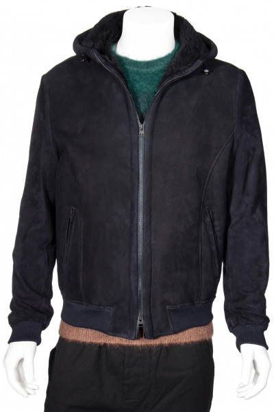 ETRO Hooded Shearling Jacket