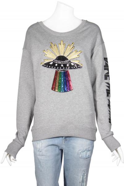 ROQA Sweatshirt Ufo Patch