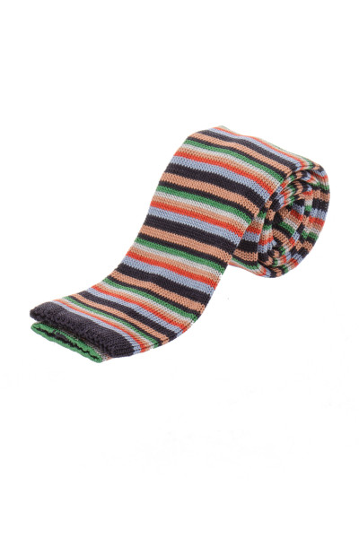 PAUL SMITH Stripe Knit Tie