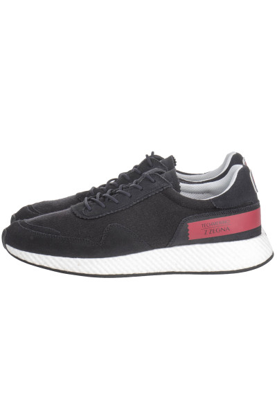 ZZEGNA Knit Logo Sneakers
