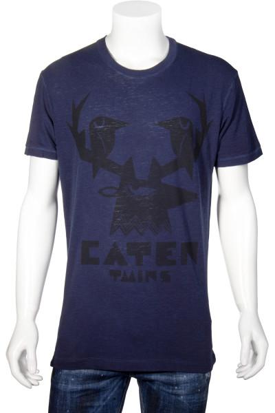 DSQUARED2 T-Shirt Caten Twins Print