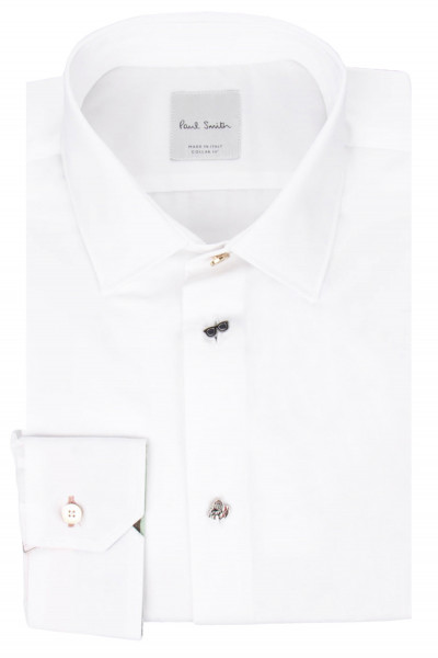 PAUL SMITH for MIB Cotton Shirt Charm Buttons
