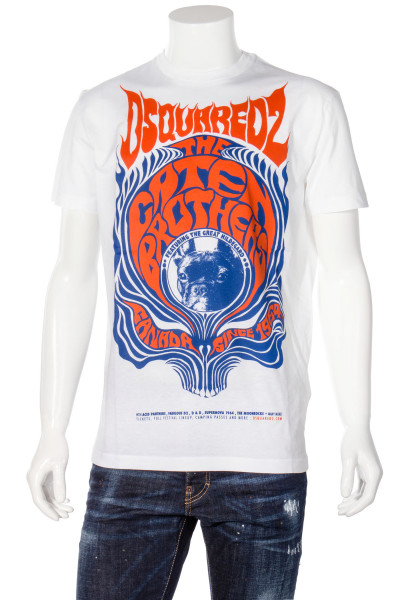 DSQUARED2 T-Shirt Printed Pug