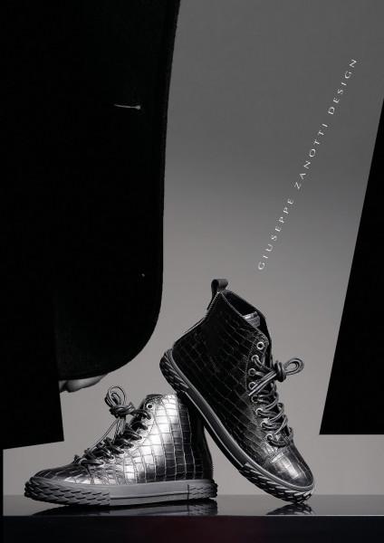GIUSEPPE ZANOTTI High Top Sneakers Blabber