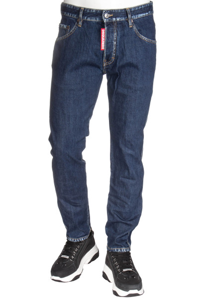 DSQUARED2 Run Dan Jeans Bleaded