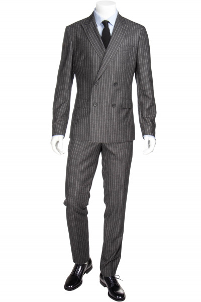 BOSS Striped Stretch Suit Namil