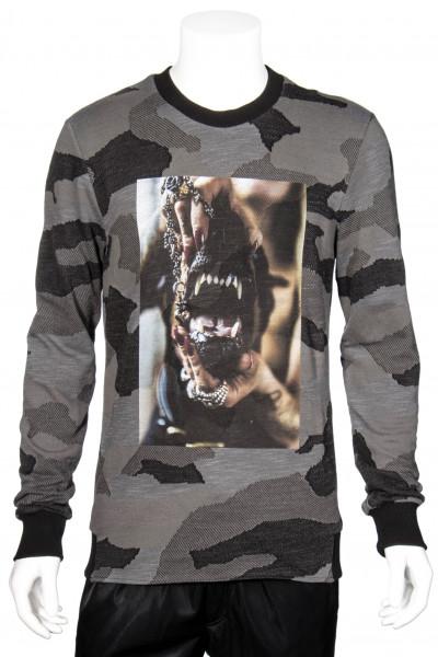 RH45 Camouflage Sweatshirt Printed Doberman