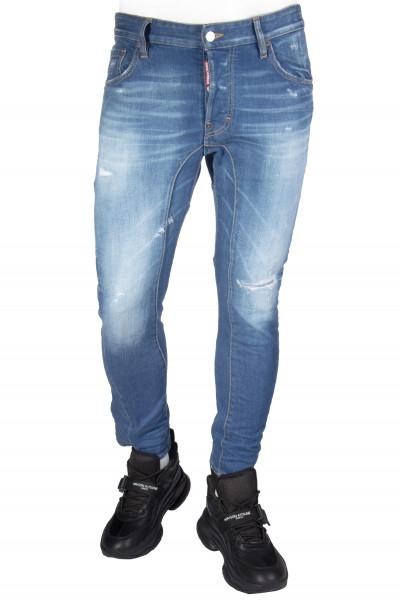 DSQUARED2 Tidy Biker Jeans Medium Ramme