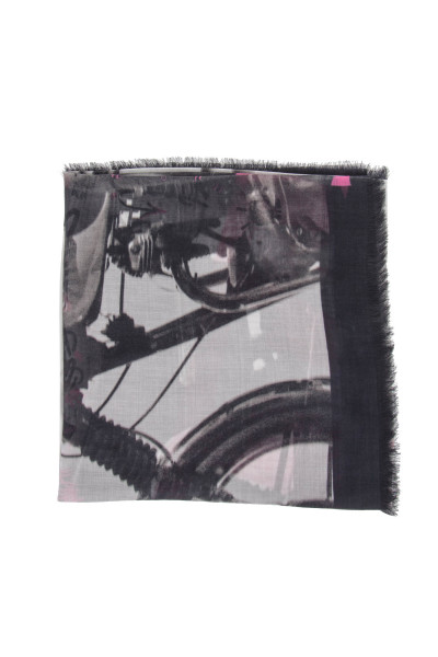 ZADIG & VOLTAIRE Kerry Photoprint Scarf