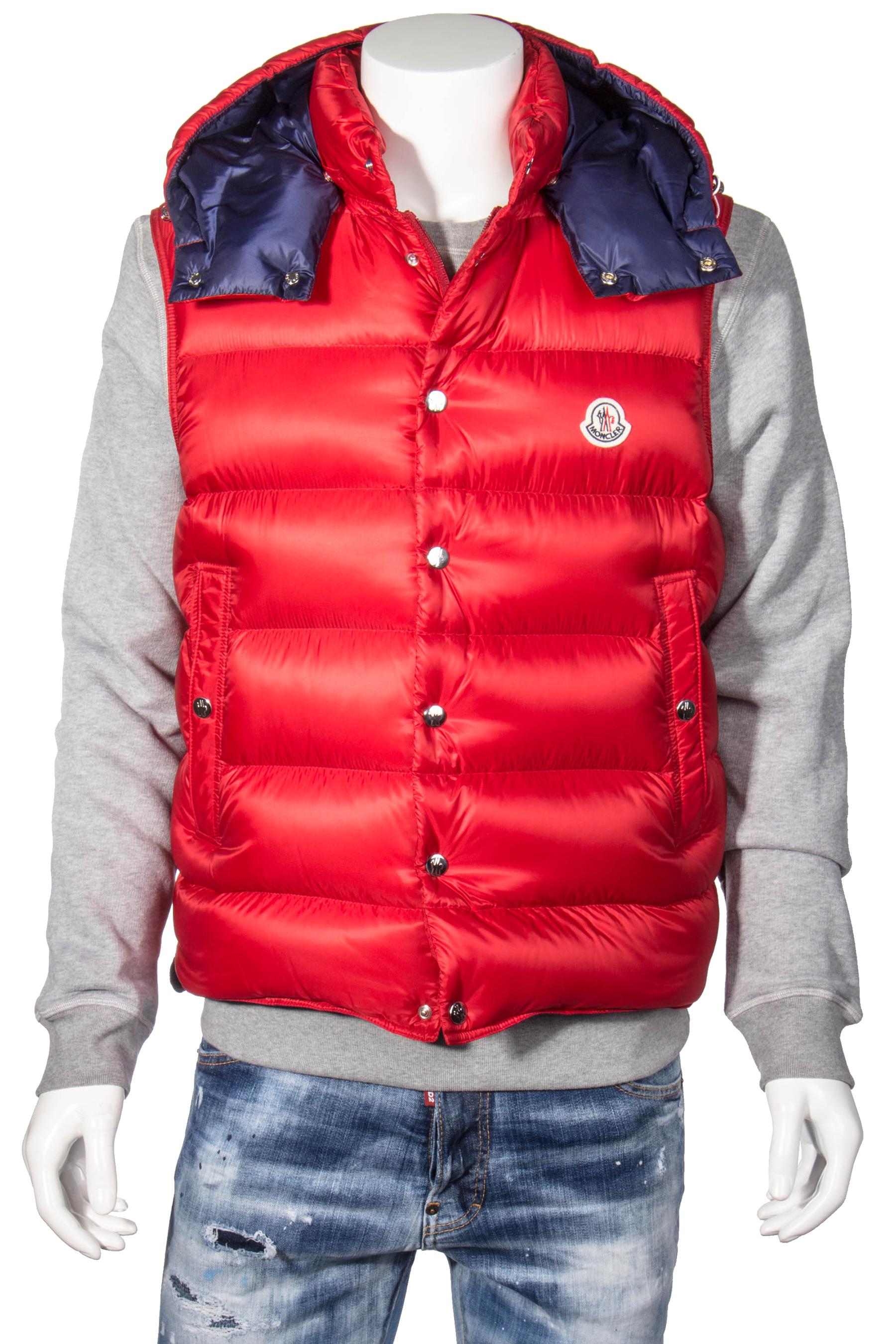 100% authentic bbf96 62bf7 MONCLER Down Vest Billecart