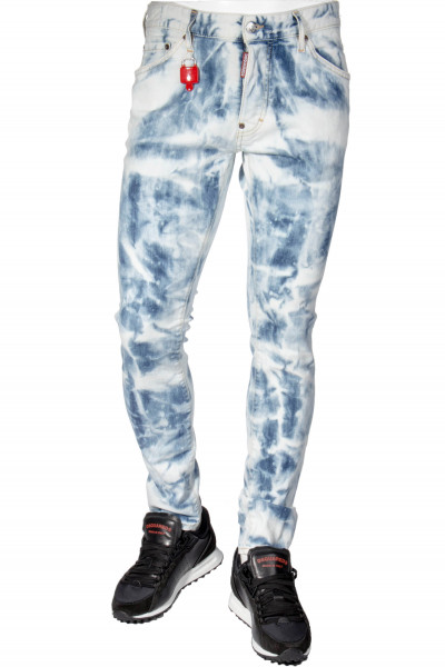 DSQUARED2 Jeans Cool Guy Shread Bleached Wash
