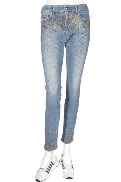 VERSACE JEANS COUTURE Rhinestone Jeans