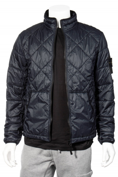 STONE ISLAND Garment Dyed Quilted Micro Yarn Jacket