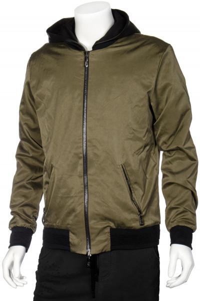 RH45 Hooded Blouson Leather Details