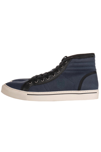 THE KOOPLES Cotton High Top Sneakers