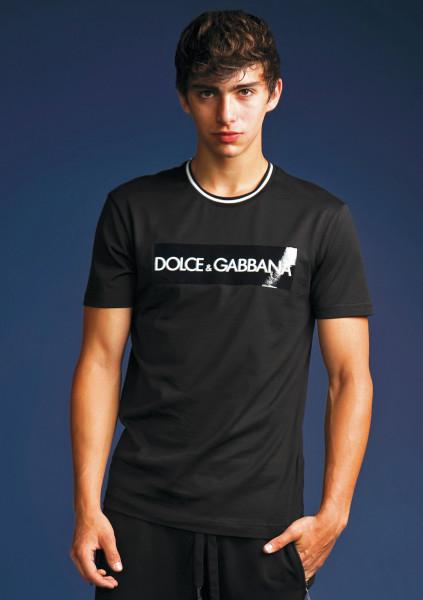 DOLCE & GABBANA T-Shirt Patch Print