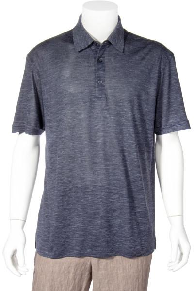 ERMENEGILDO ZEGNA Silk Blend Poloshirt
