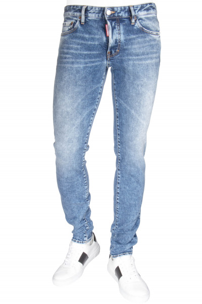 DSQUARED2 Slim Jeans Plain Light