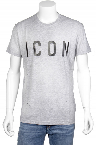 DSQUARED2 Printed T-Shirt ICON Holes