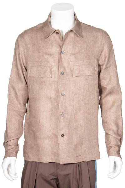ERMENEGILDO ZENGA Linen Shirt
