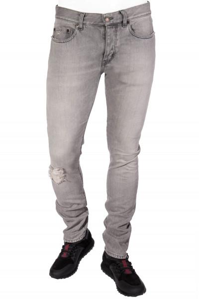 SAINT LAURENT Destroyed Jeans
