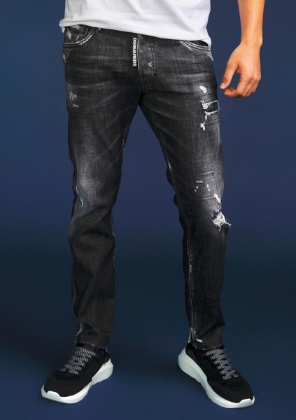 DSQUARED2 Skater Jeans Black Wash