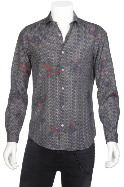 THE KOOPLES Shirt Printed Flowers