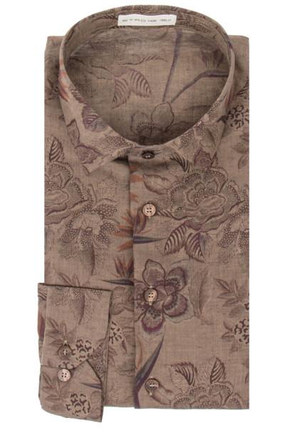 ETRO Linen Shirt Floral Print