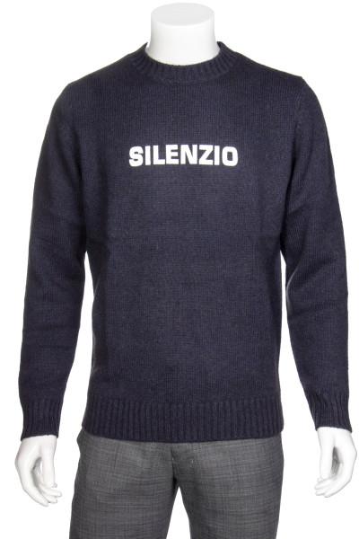 ASPESI Yack-Wool Knit Sweater Silenzio