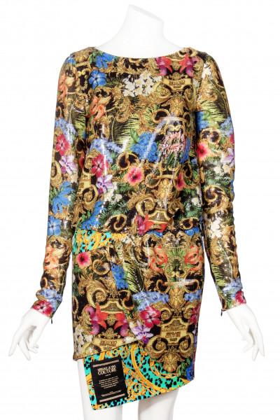 VERSACE JEANS COUTURE Pailettes Mini Dress
